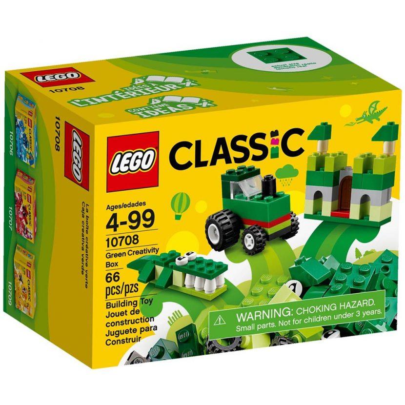 10708 Zelena kreativna kutija