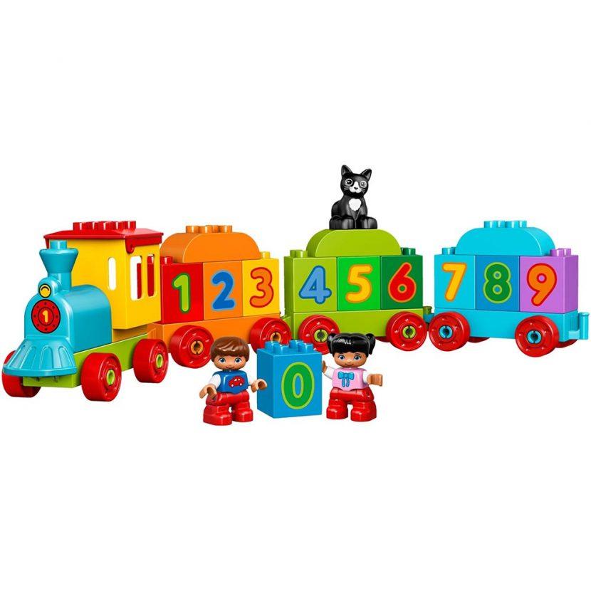 10847 Moj prvi voz sa brojevima
