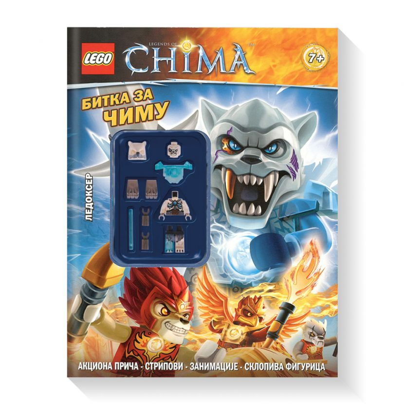 LEGO® CHIMA™: Bitka za Čimu