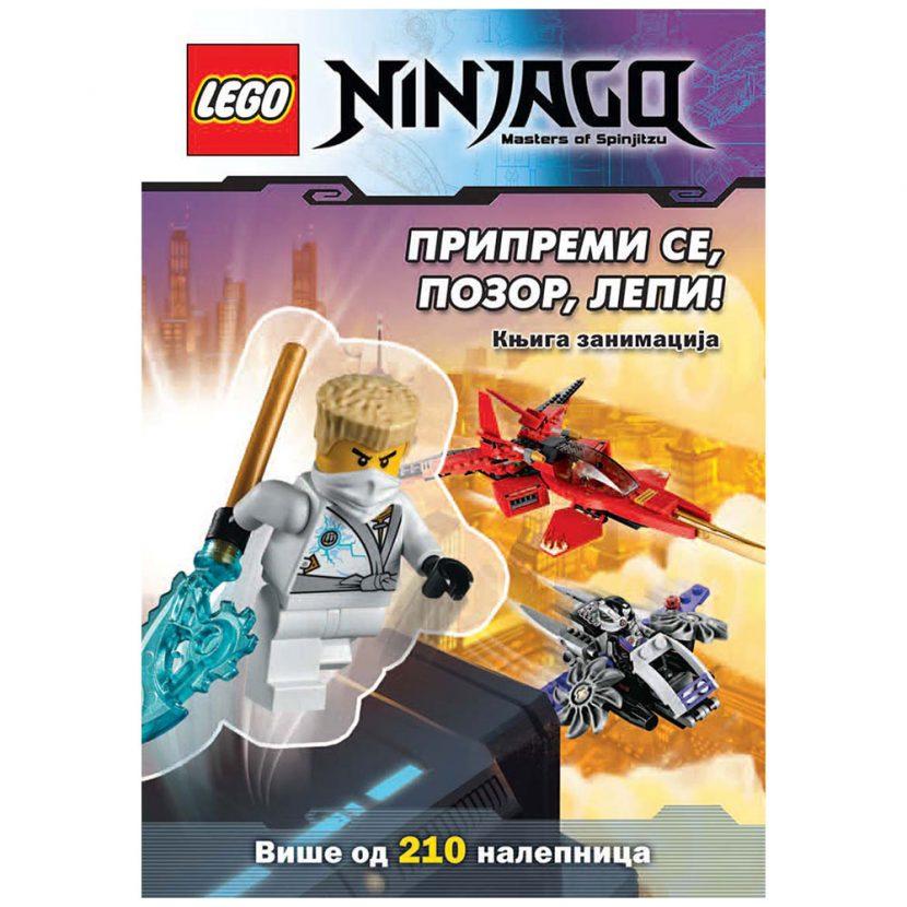 LEGO® NINJAGO®: Pripremi se, pozor, lepi!