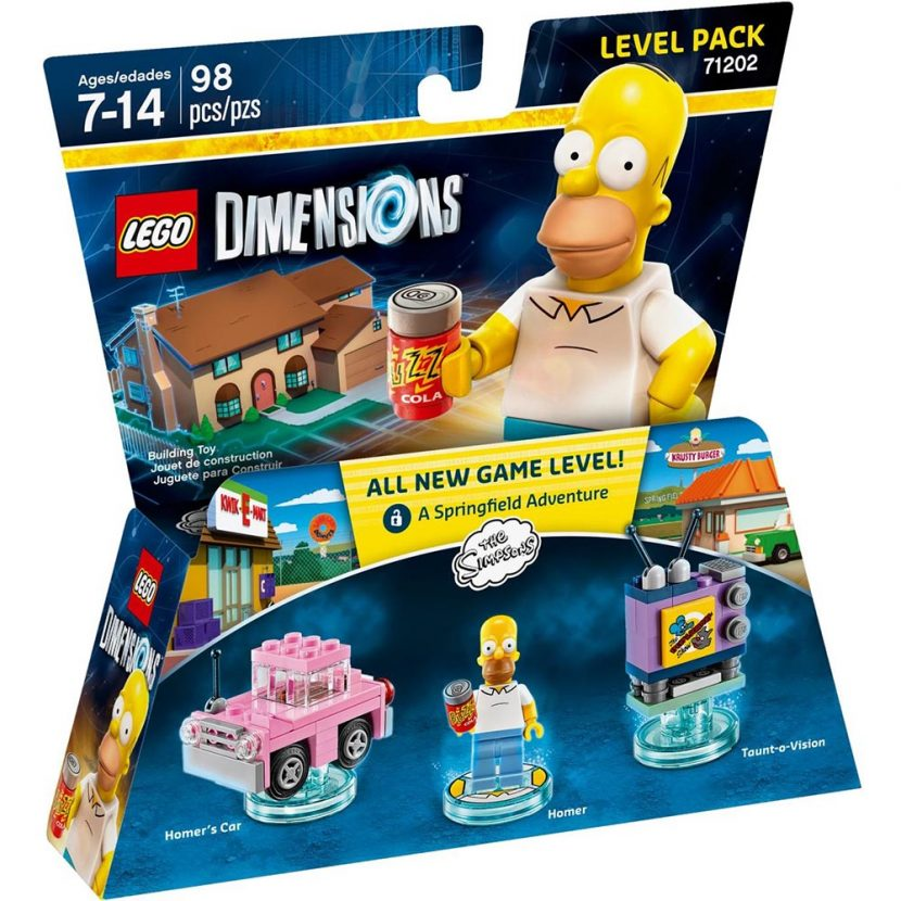 LEGO® DIMENSIONS™: Simpsonovi (Dodatni nivo)