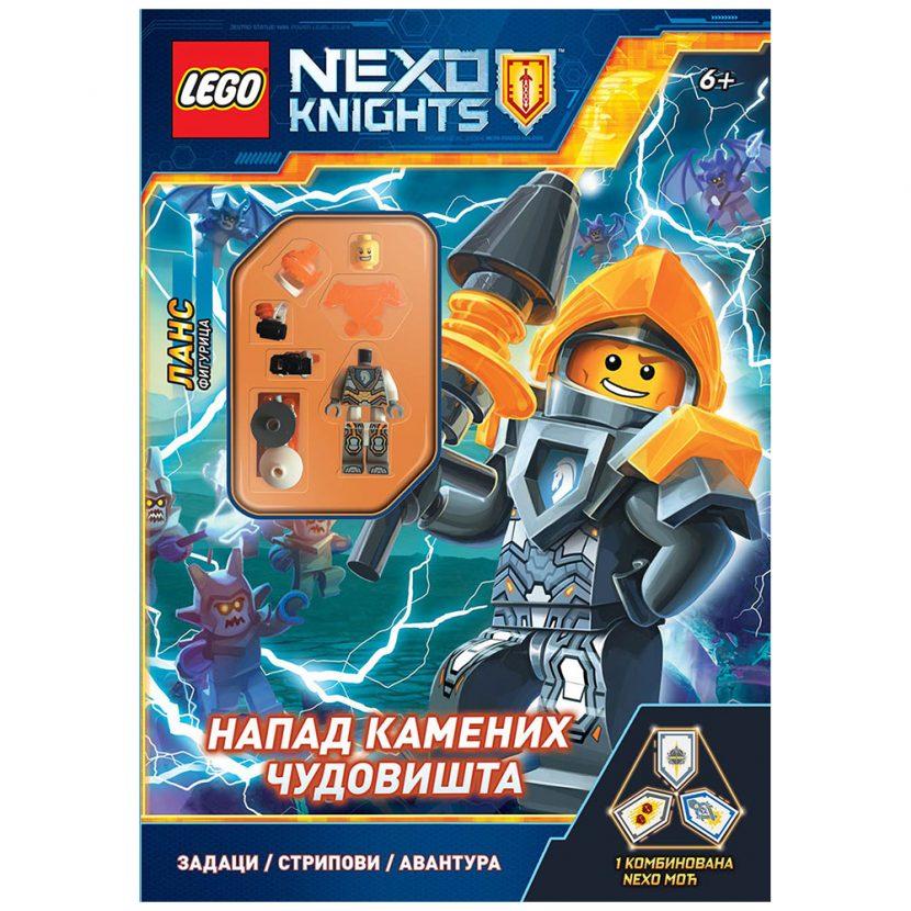 LEGO® NEXO KNIGHTS™: Napad kamenih čudovišta