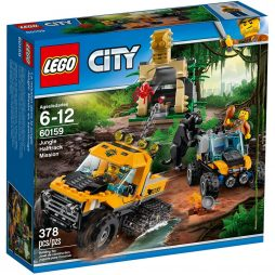 60159 Džungla: Istraživačka misija