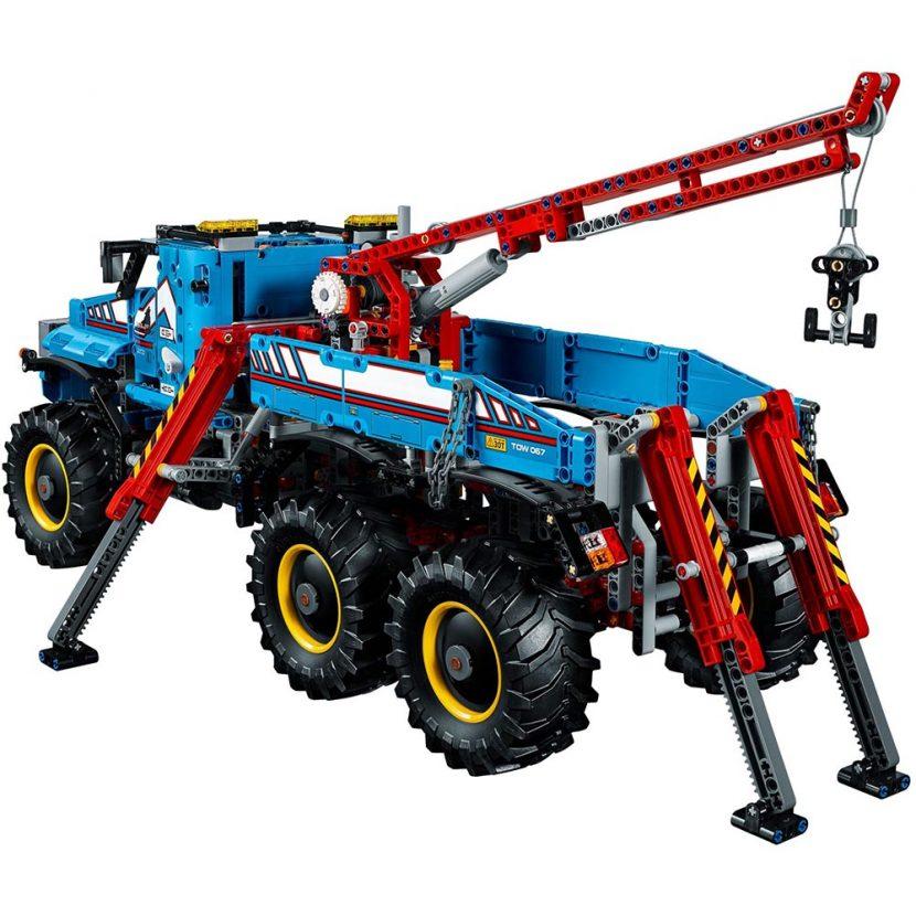 42070 6x6 svestrani šlep-kamion