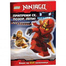 LEGO® NINJAGO®: Pripremi se, pozor, lepi! 212 nalepnica