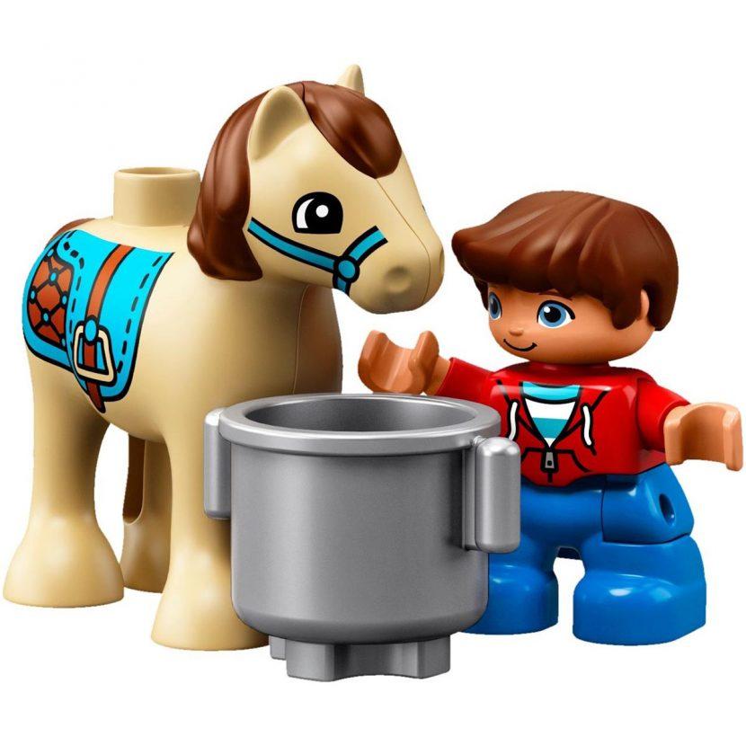 10868 Štala za ponije na farmi