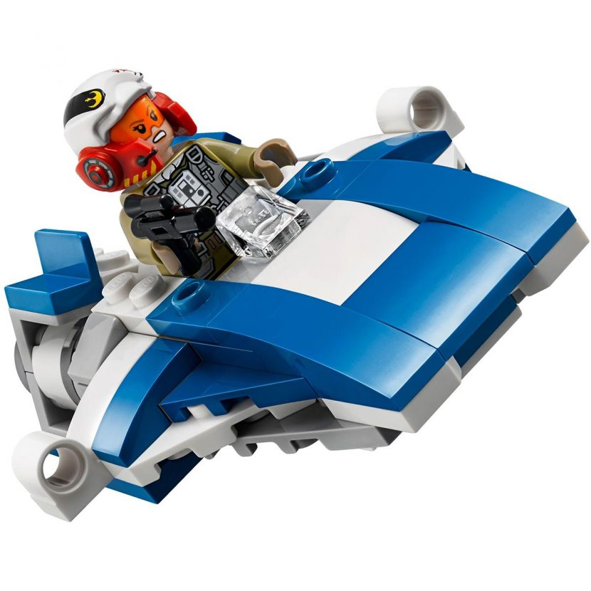 75196 Mikro-borci: Ski brzinac protiv Hodača Prvog reda