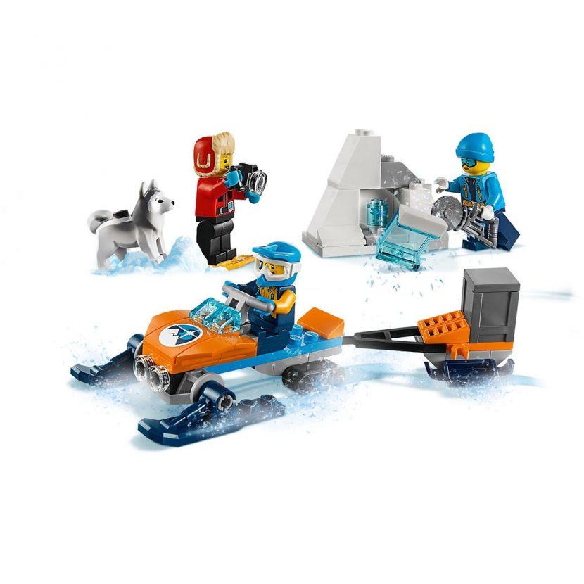 60191 Arktički istraživački tim - osnovni set