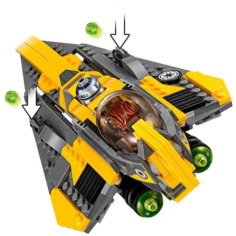 75214 Anakinov džedajski zvezdani borac