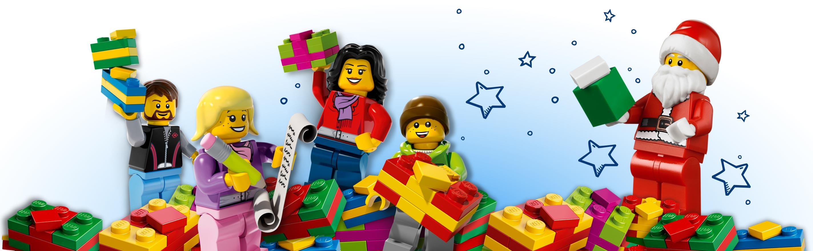 Novogodišnji paketići LEGO kocke