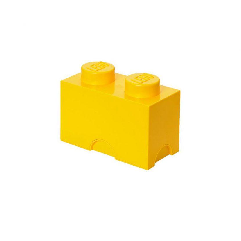 LEGO kutija za odlaganje (2): Žuta