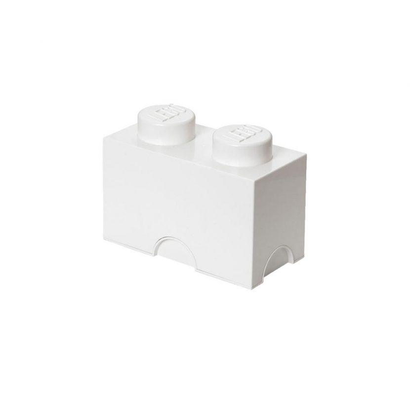 LEGO kutija za odlaganje (2): Bela