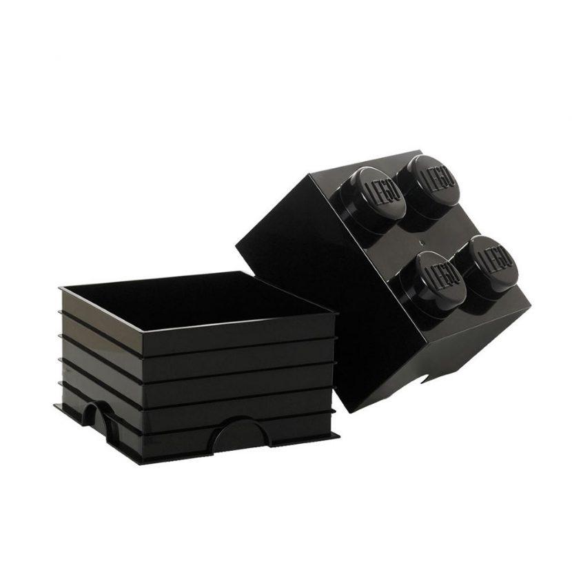 LEGO kutija za odlaganje (4): Crna