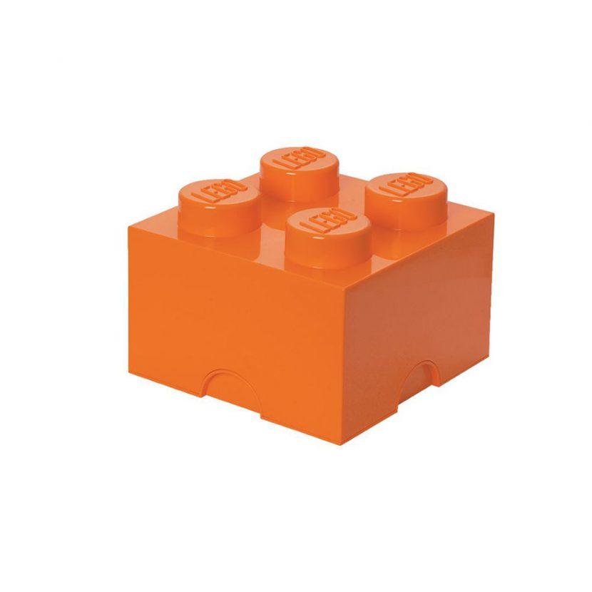 LEGO kutija za odlaganje (4): Jarko naranžasta