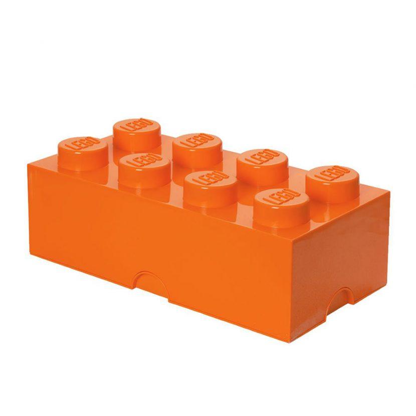 LEGO kutija za odlaganje (8): Jarko narandžasta