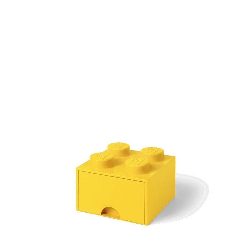 LEGO fioka (4): Žuta