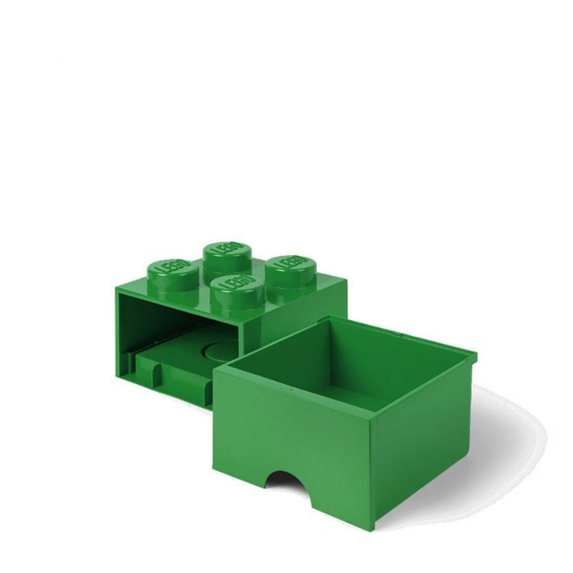 LEGO fioka (4): Tamno zelena