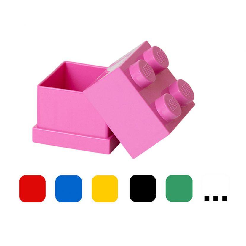 LEGO mini kutija (4): Jarko ljubičasta