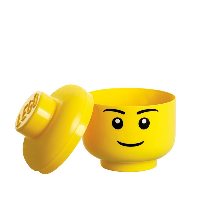 LEGO glava za odlaganje (mala): Dečak