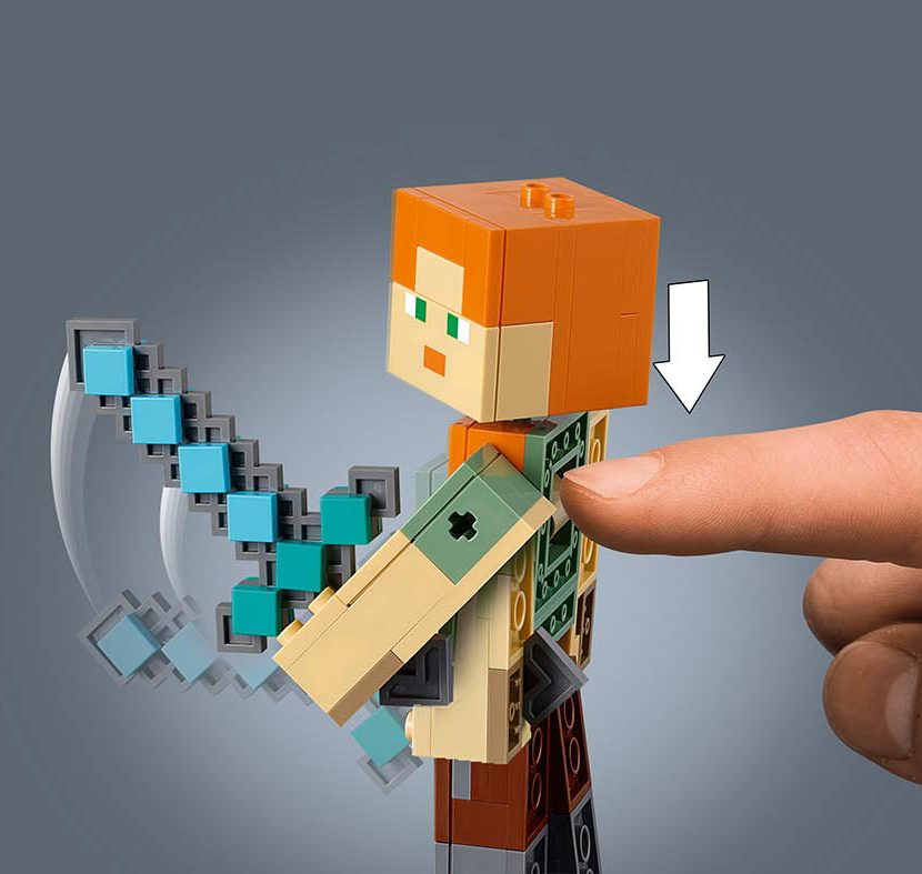 21149 Velika figura Minecraft™ Aleks sa piletom