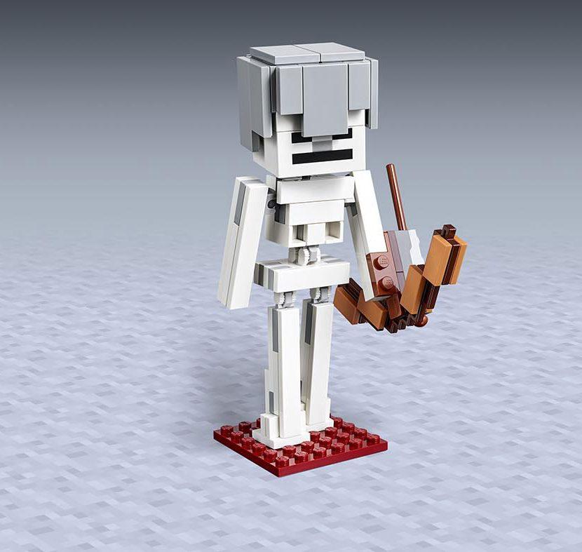 21150 Velika figura Minecraft™ kostura sa magma kockom