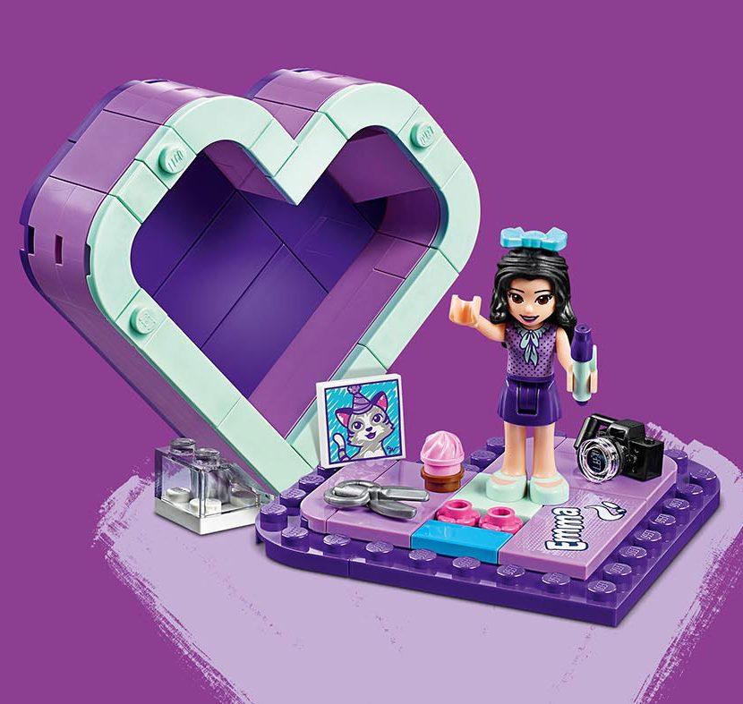 41355 Emina kutija u obliku srca