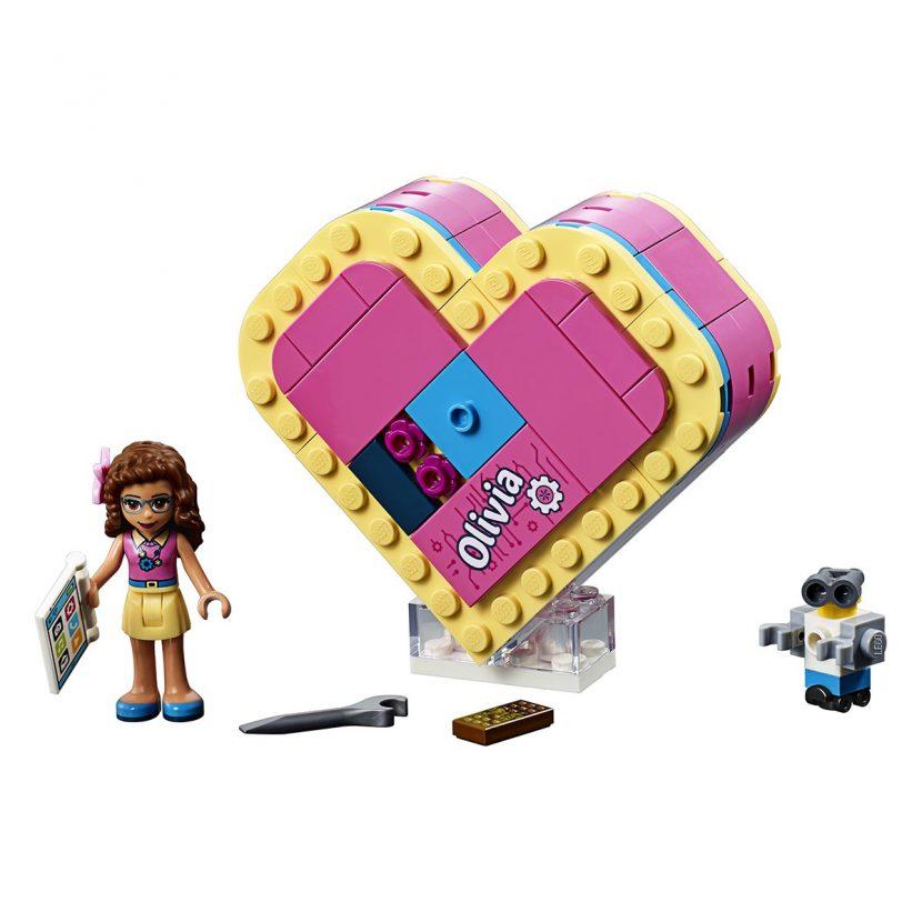 41357 Olivijina kutija u obliku srca