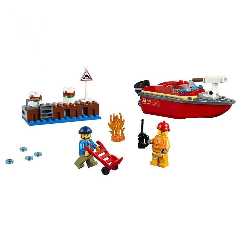60213 Požar pored doka