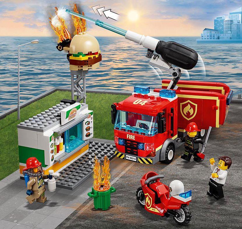 60214 Spašavanje hamburgerdžinice od požara