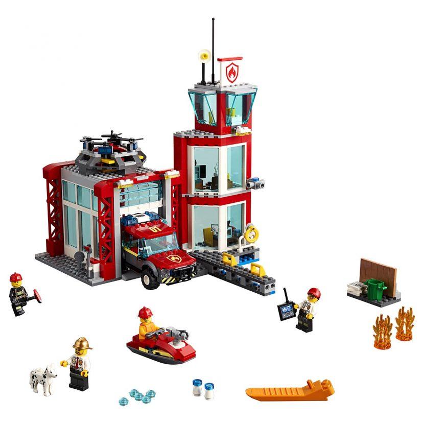 60215 Vatrogasna stanica