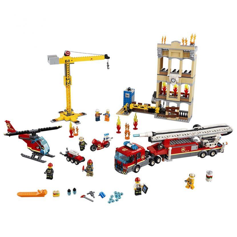 60216 Vatrogasna brigada u centru grada