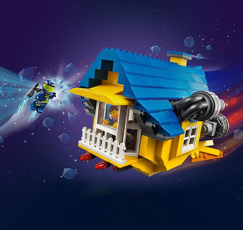 70831 Emetova kuća iz snova / raketa za spasavanje