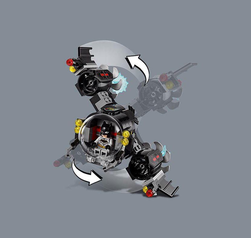 76116 Betmenova bet-podmornica i podvodni obračun