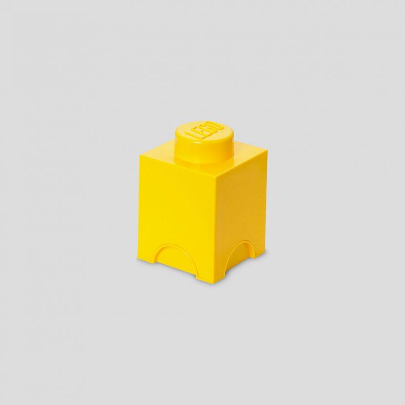 LEGO kutija za odlaganje (1): Žuta