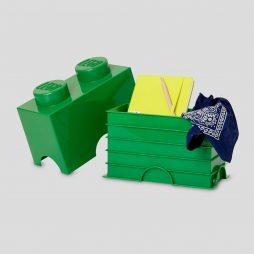 LEGO kutija za odlaganje (2): Tamno zelena