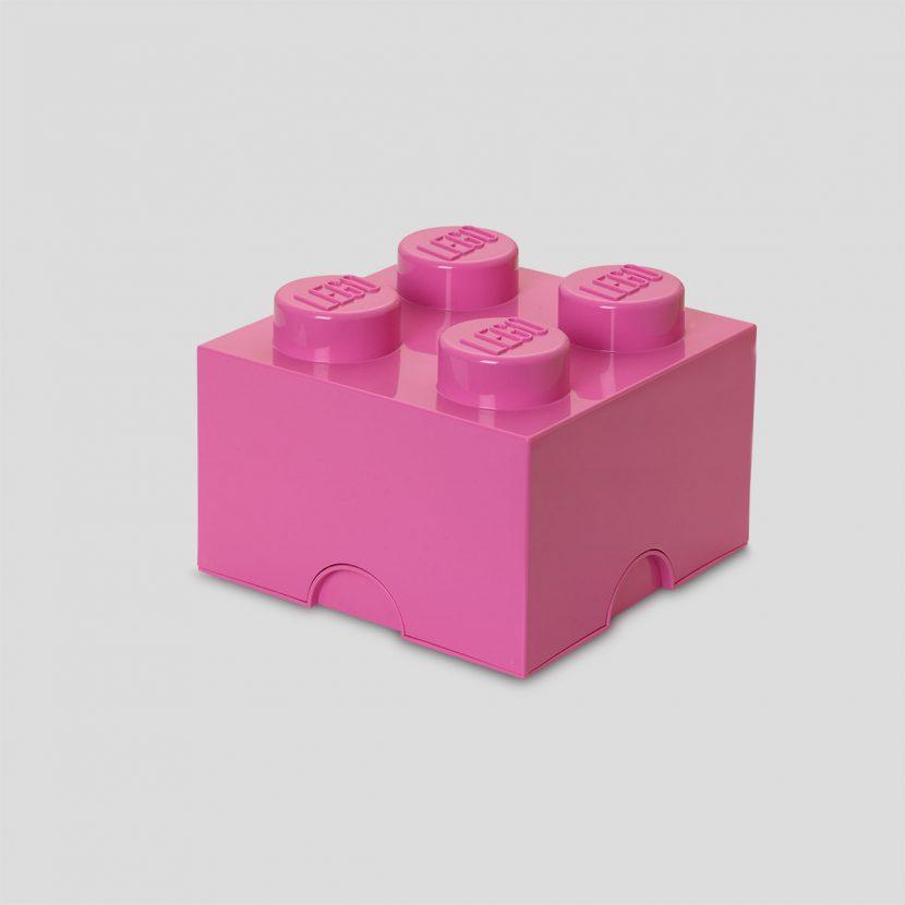 LEGO kutija za odlaganje (4): Roze