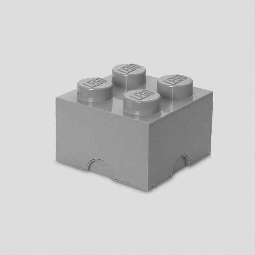 LEGO kutija za odlaganje (4): Kameno siva