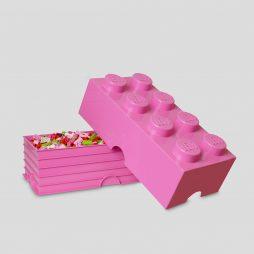LEGO kutija za odlaganje (8): Jarko ljubičasta