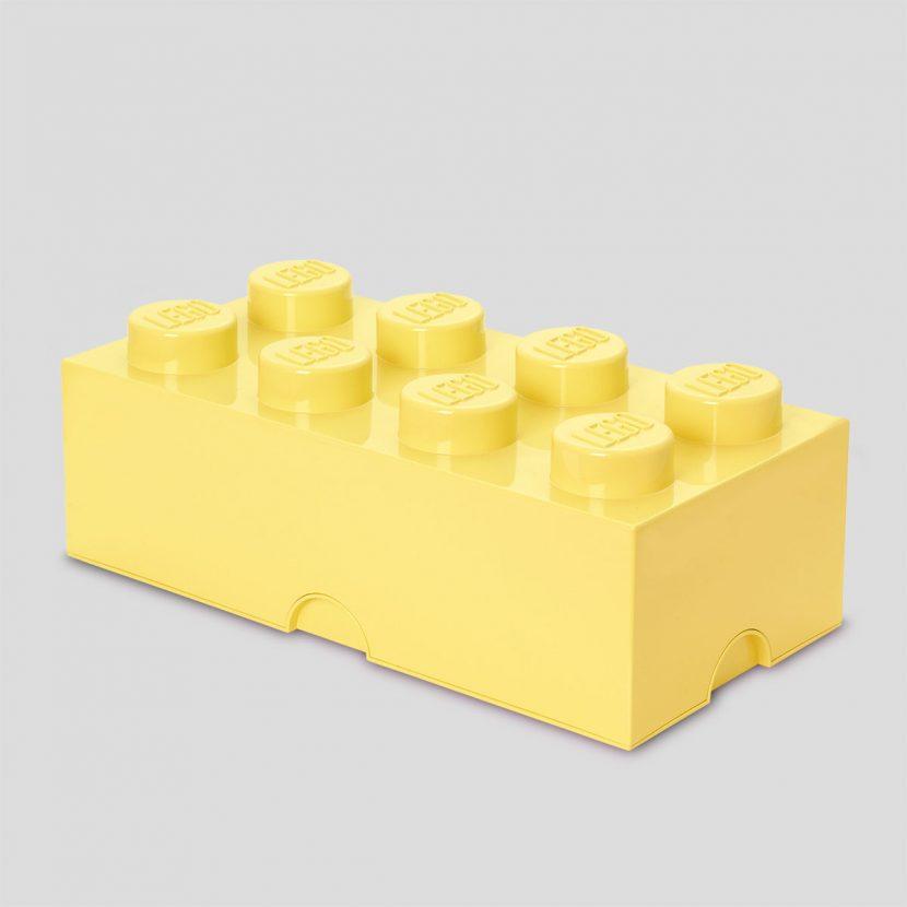 LEGO kutija za odlaganje (8): Hladno žuta