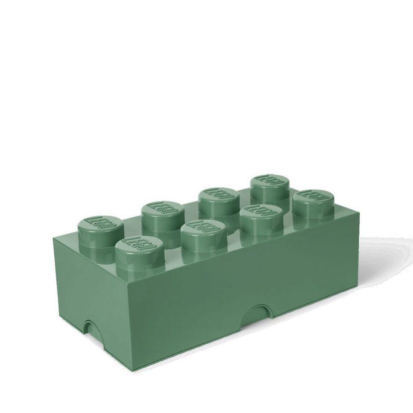 LEGO kutija za odlaganje (8): Peščano zelena