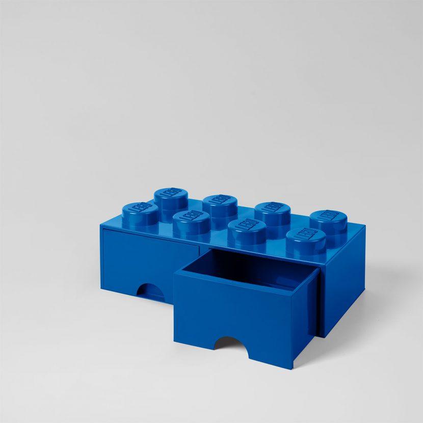 LEGO fioka (8): Plava