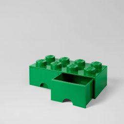 LEGO fioka (8): Tamno zelena