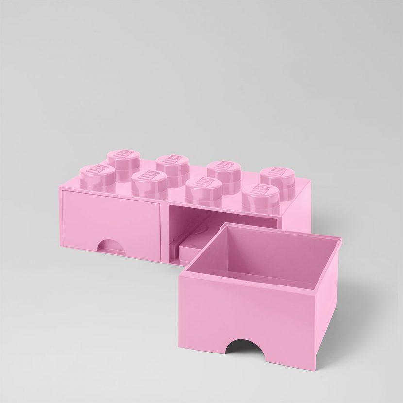LEGO fioka (8): Roze