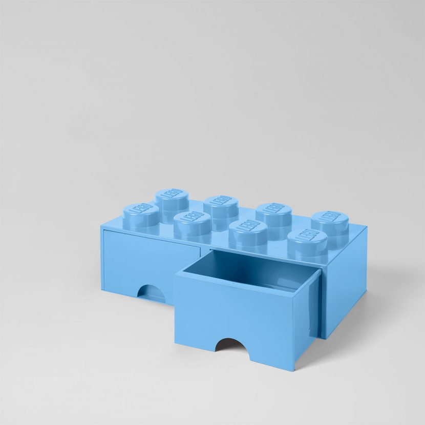LEGO fioka (8): Rojal plava