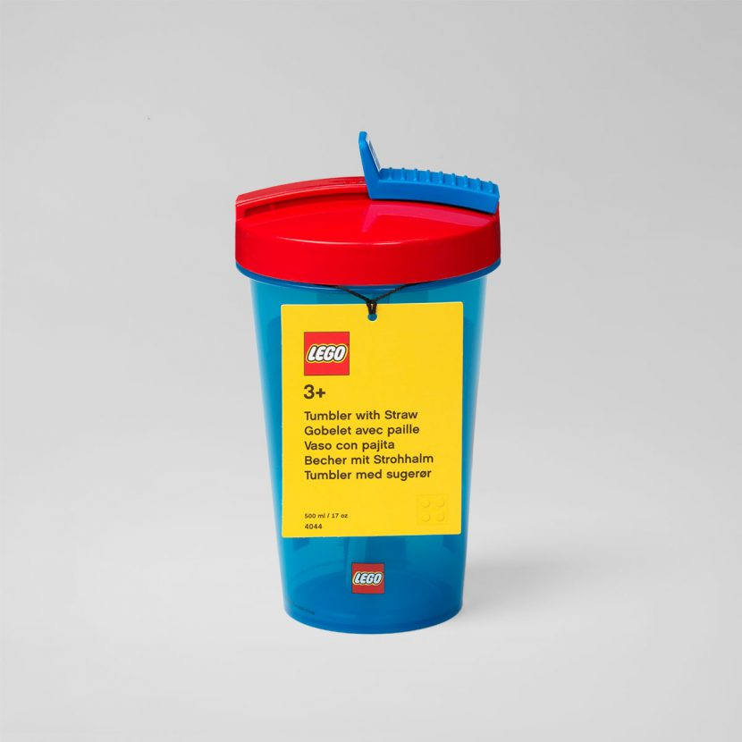 LEGO čaša sa poklopcem i slamkom: Klasik
